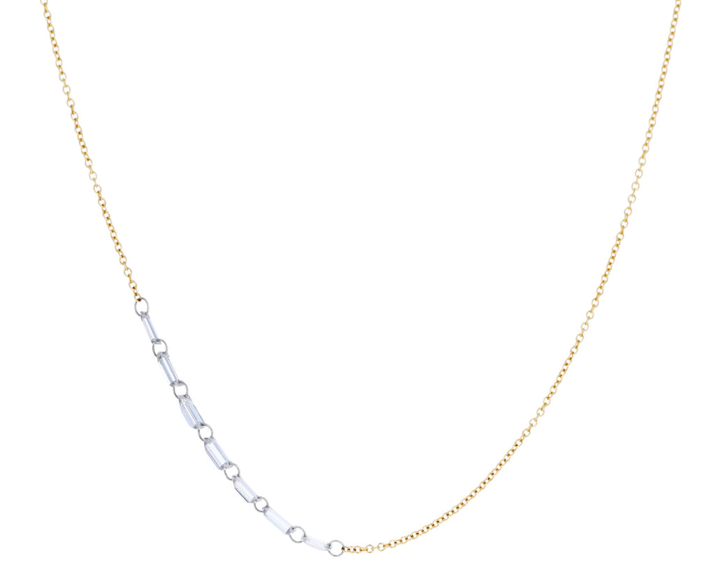 Baguette Diamond Chain Necklace - TWISTonline