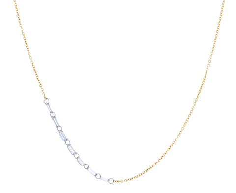Baguette Diamond Chain Necklace