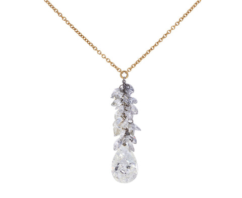 Diamond Waterfall Necklace