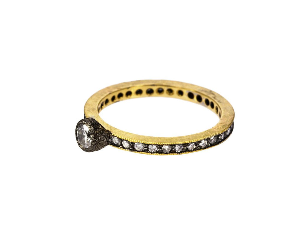 Diamond Solitaire Eternity Ring - TWISTonline