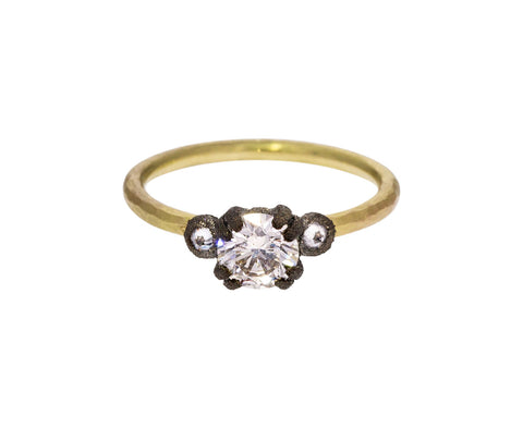 Round Diamond Solitaire