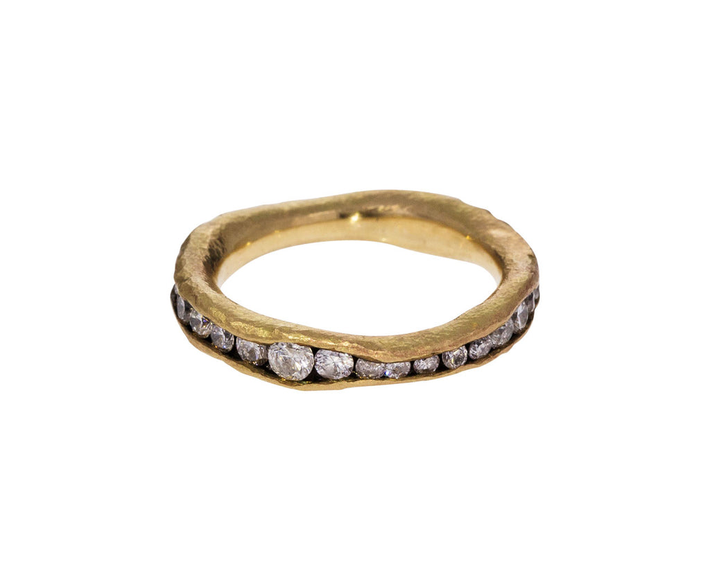 Irregular Diamond Eternity Band - TWISTonline