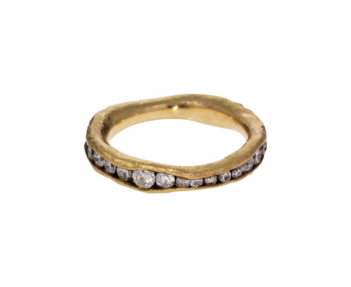 Irregular Diamond Eternity Band