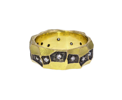 Bright Cut Diamond Band - TWISTonline