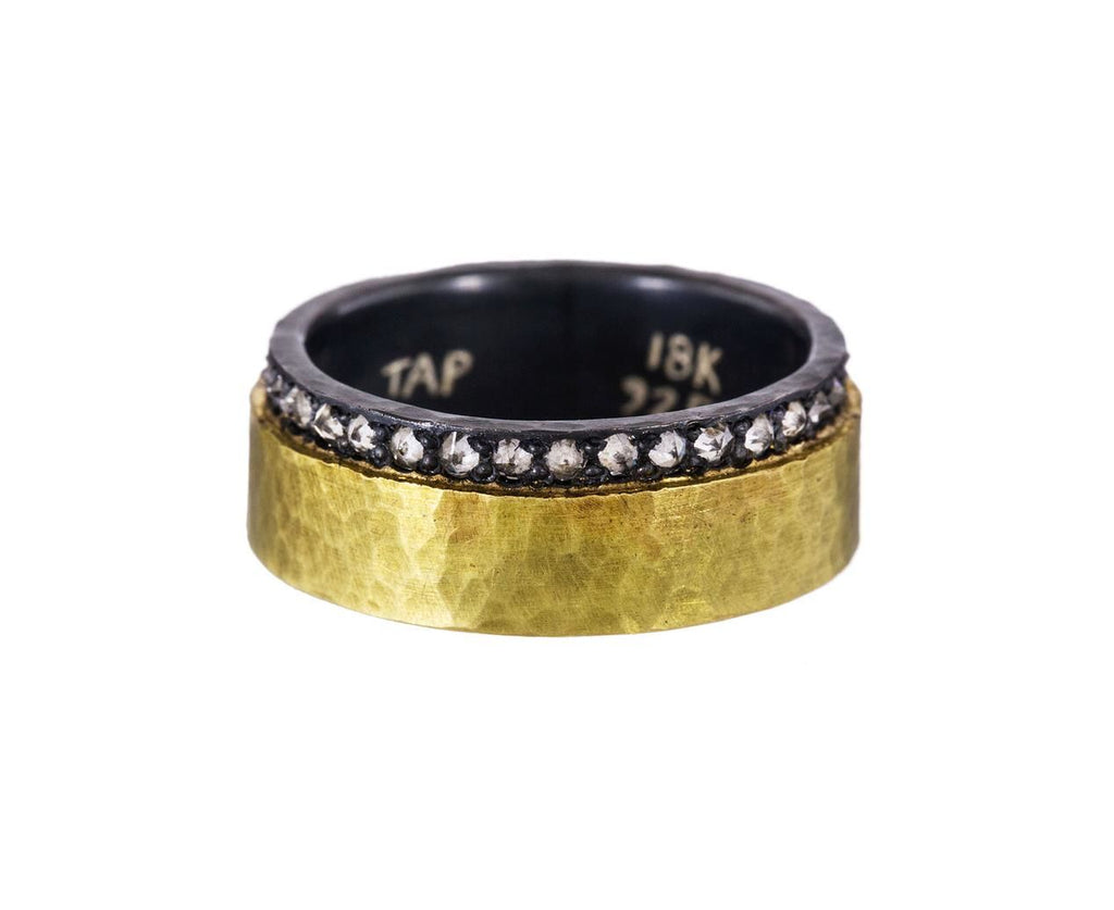 Gold Silver and Diamond Wide Band - TWISTonline