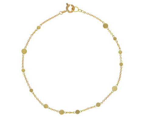 Gold Scattered Dots Bracelet