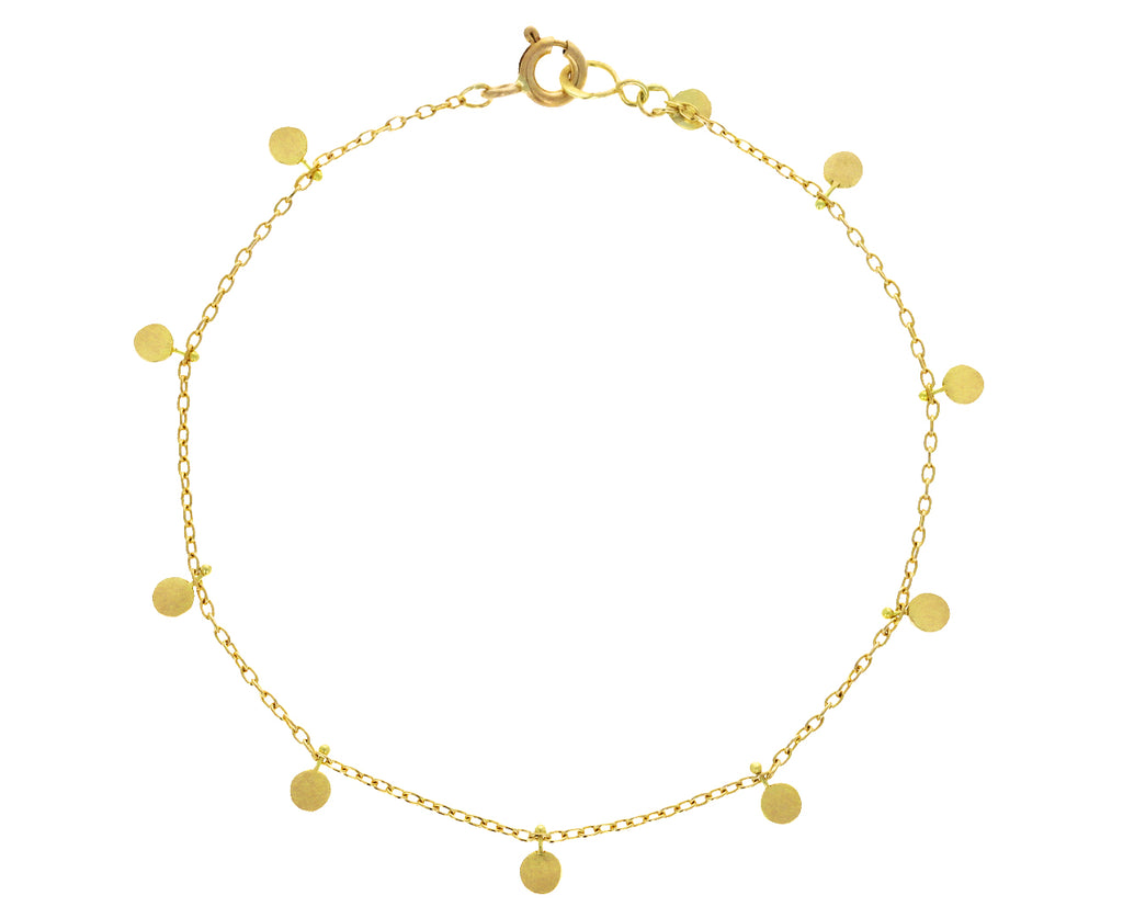 Gold Big Dots Bracelet