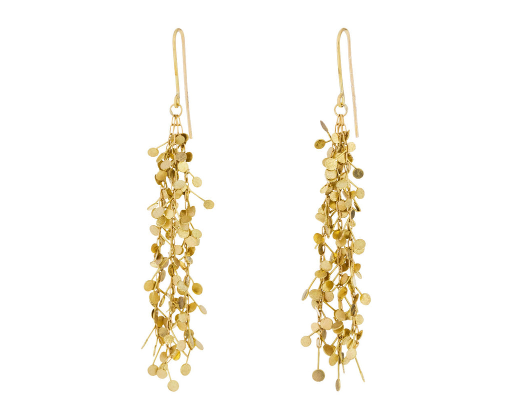 Gold Big Dots Earrings
