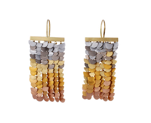 Rainbow Gold Sunrise Earrings