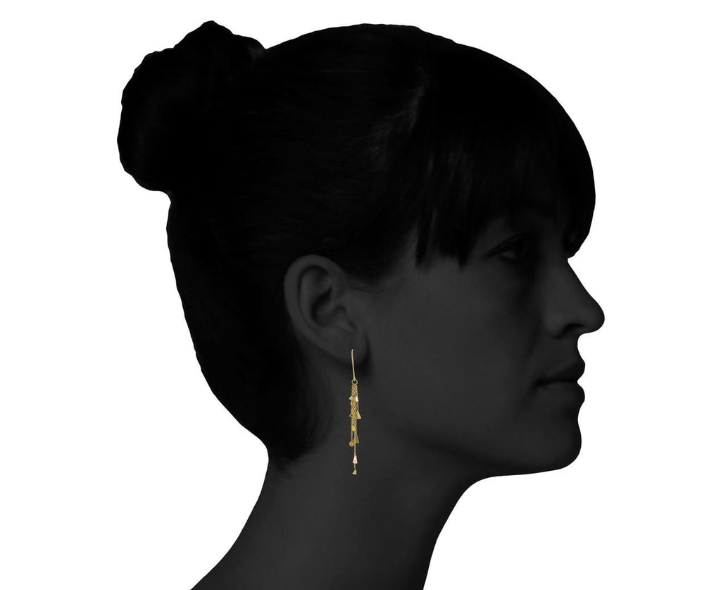 Triangle Dot Earrings - TWISTonline