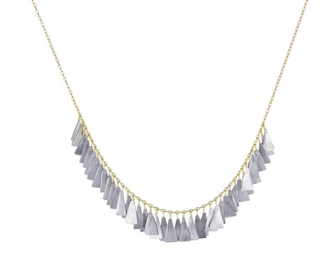 Platinum Feather Necklace - TWISTonline