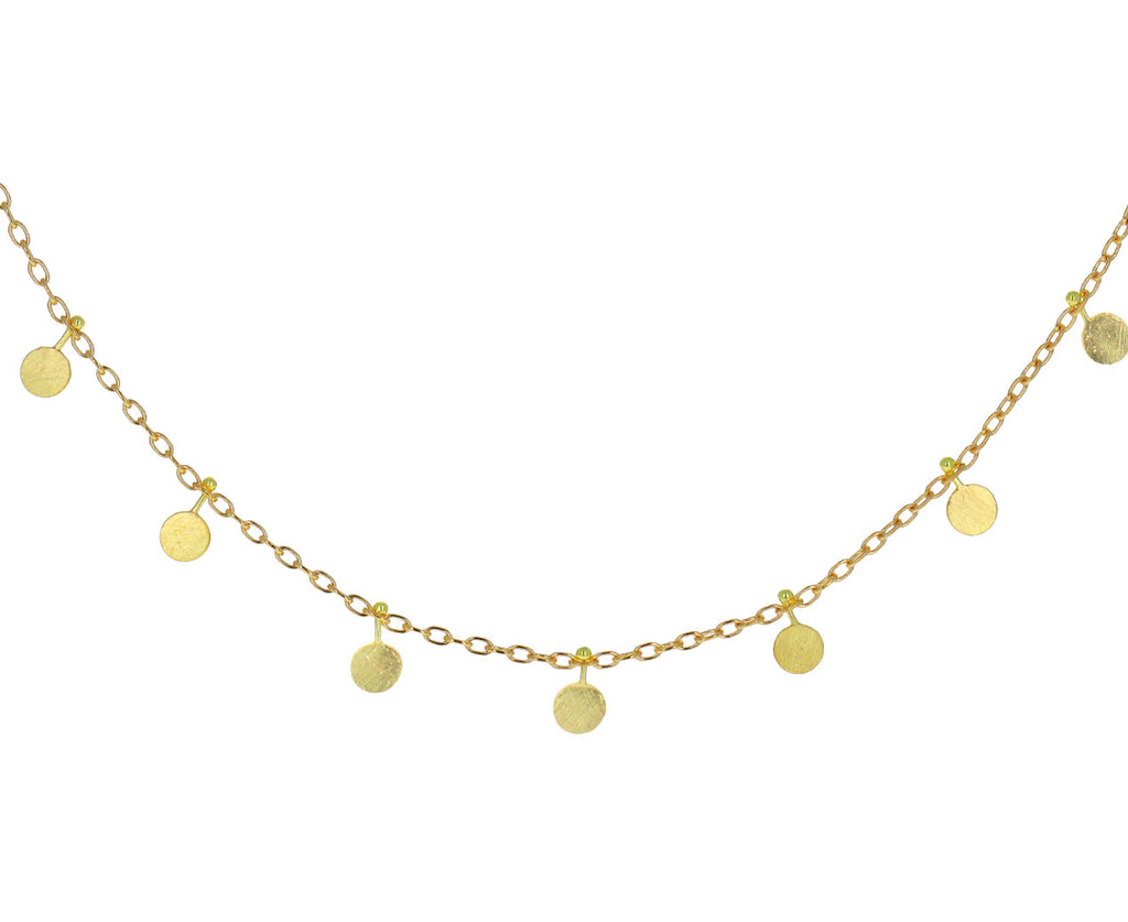 Gold Little Dots Necklace