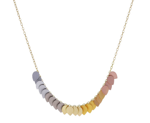 Golden Rainbow Necklace
