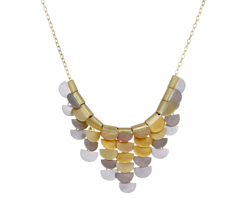 Rainbow Gold Sunrise Necklace