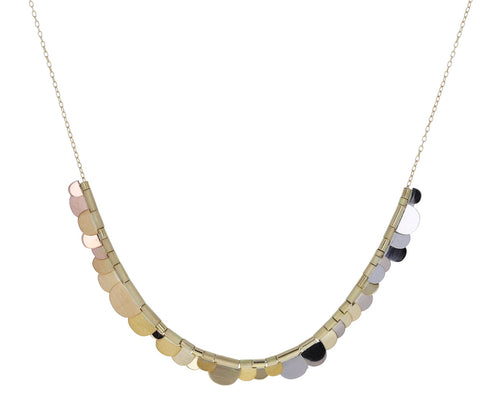 Rainbow Gold Flora necklace