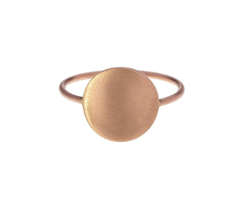 Rose Gold Moon Ring - TWISTonline