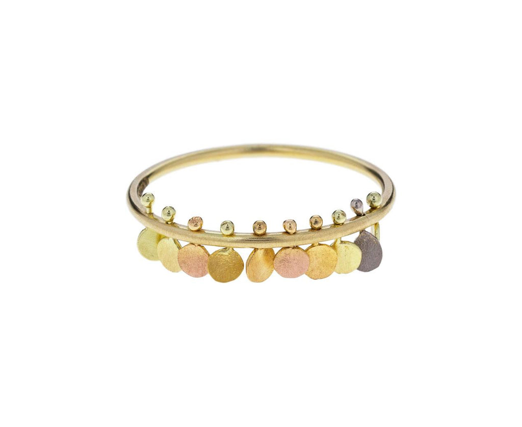 Rainbow Tiny Dots Ring zoom 1_sia_taylor_gold_rainbow_tiny_dots_ring