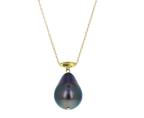 Tahitian Pearl Pendant Necklace - TWISTonline