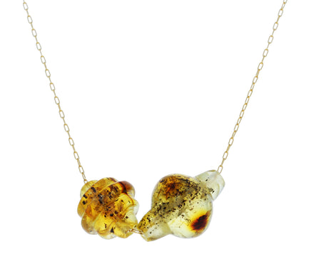 Amber Trade Bead Necklace