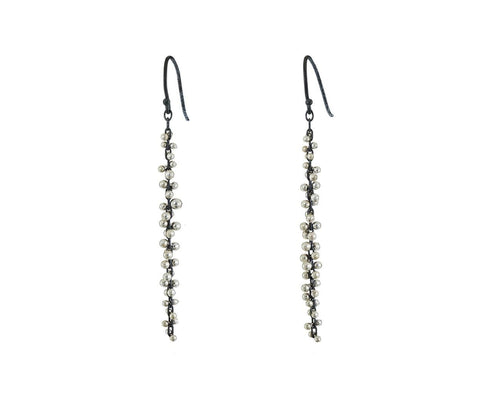 Long Silver Cluster Earrings zoom 1_ten_thousand_things_silver_long_cluster_earrings