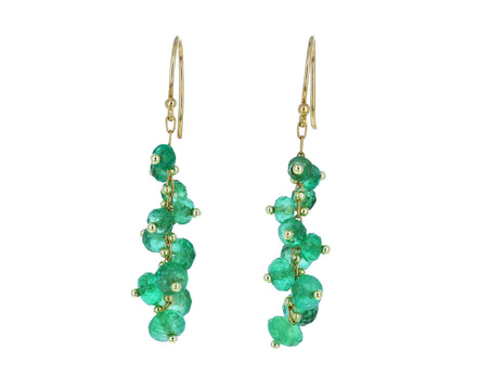 Emerald Spiral Earrings - TWISTonline