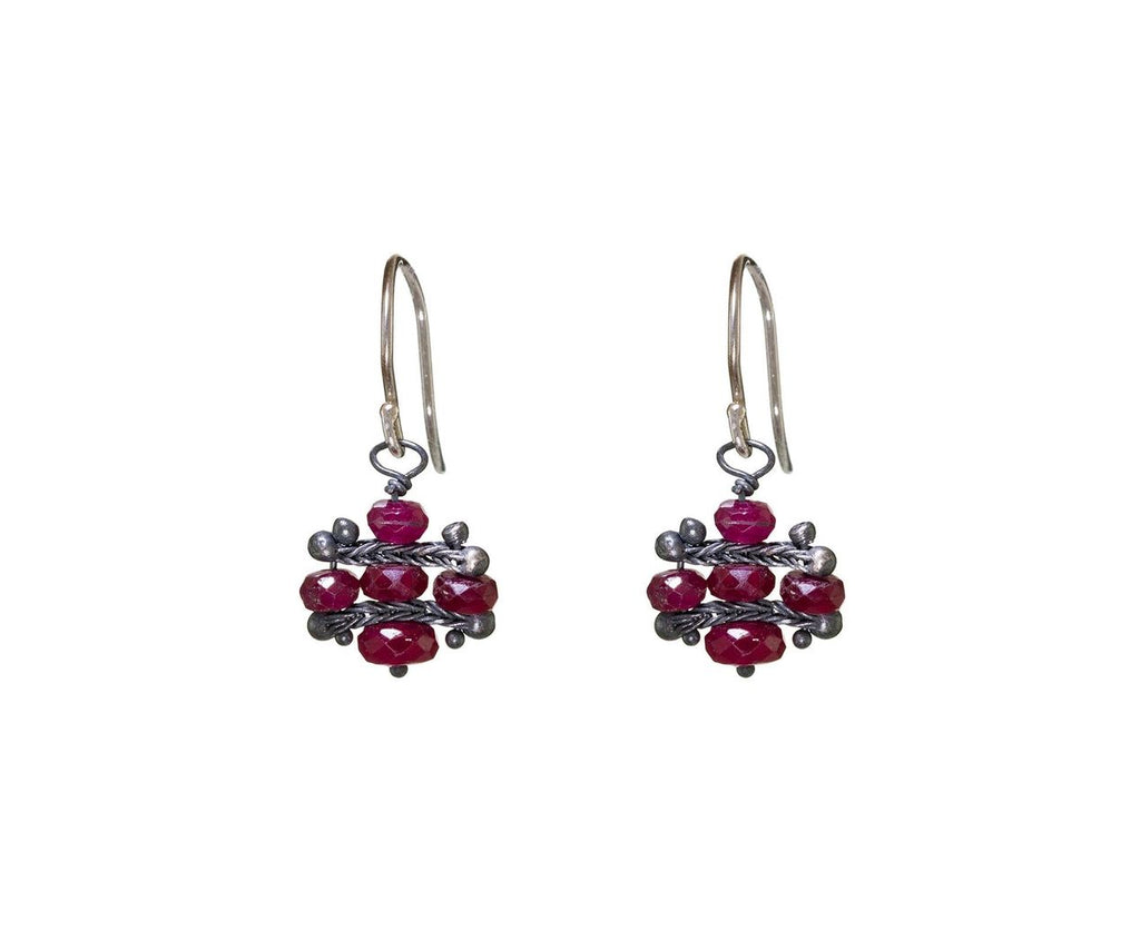 Ruby Crest Earrings - TWISTonline