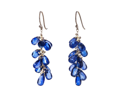 Kyanite Cluster Earrings - TWISTonline