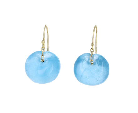 Aquamarine Tapiz Earrings - TWISTonline