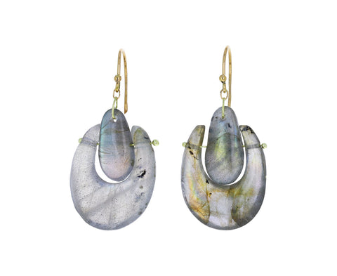 Labradorite O'Keeffe Earrings