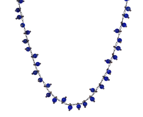 Lapis Choker Necklace - TWISTonline