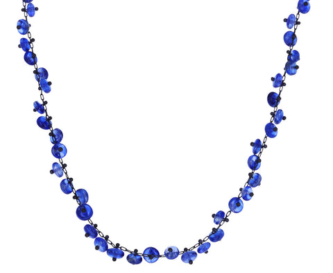 Kyanite Beaded Choker Necklace
