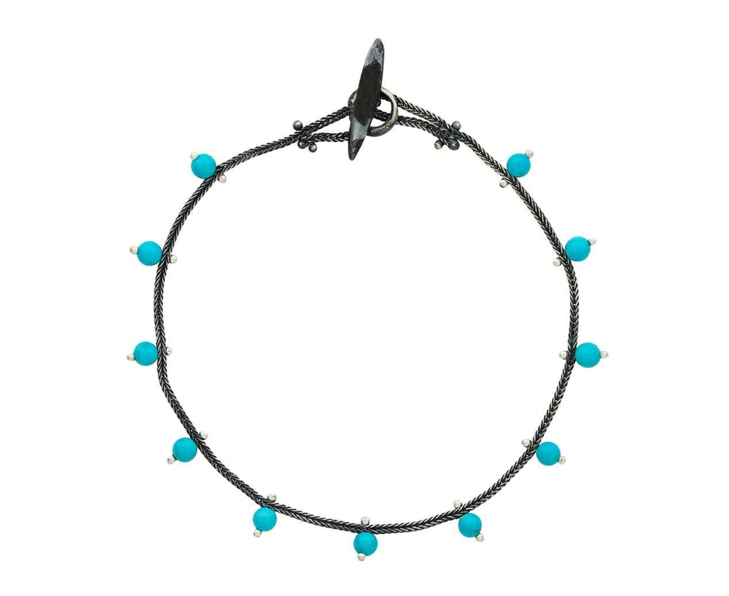 Turquoise Bracelet zoom 1_ten_thousand_things_silver_studded_turquoise_bra