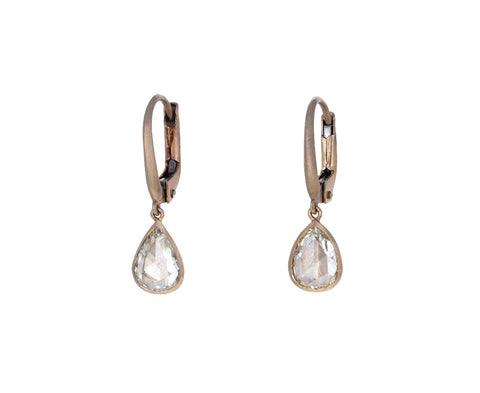 Rose Cut Diamond Gwyneth Momo Earrings