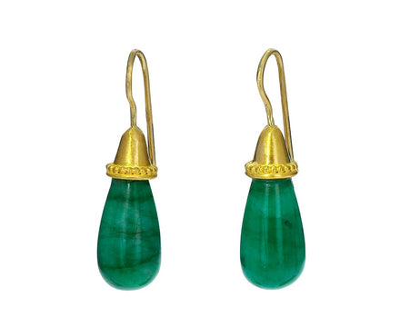 Pileus Emerald Drop Earrings - TWISTonline