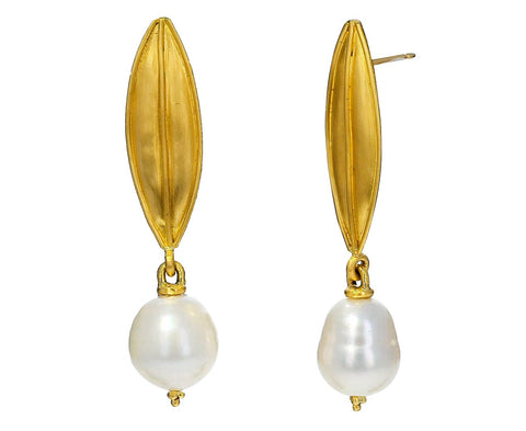Laurel Pearl Drop Earrings - TWISTonline