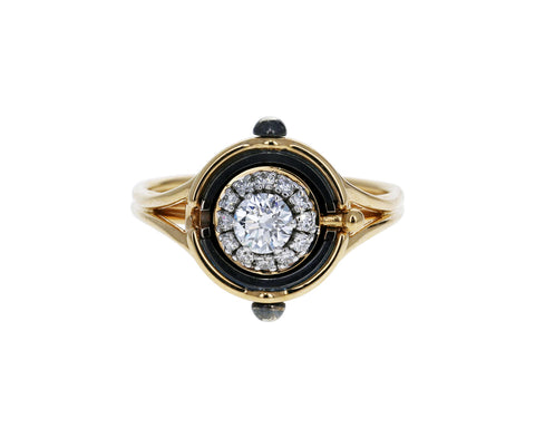 Mira Diamond Ring - TWISTonline