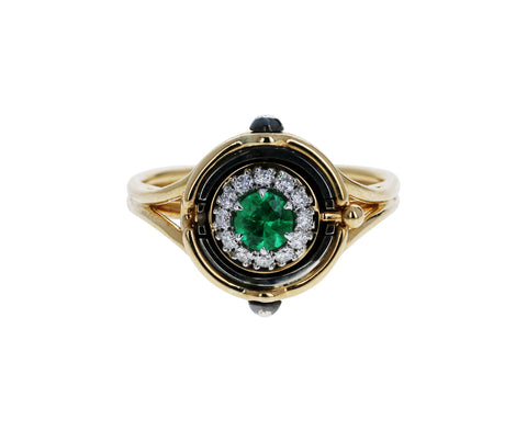Mira Emerald Ring - TWISTonline