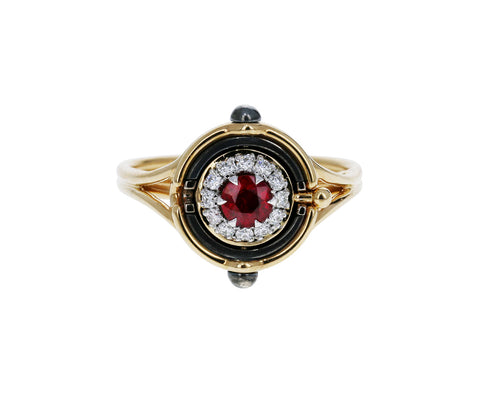 Mira Ruby Ring - TWISTonline
