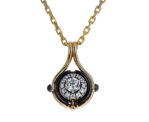 Mira Diamond Pendant Necklace - TWISTonline