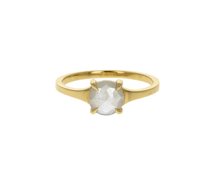 Astrid Opalescent Diamond Solitaire
