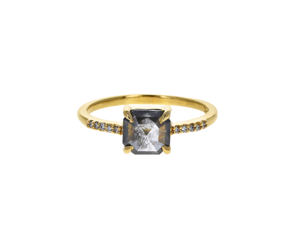 Gray Diamond Eva Ring