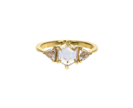 Hexagonal Diamond Solitaire