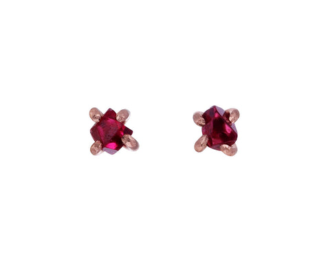Small Spinel Stud Earrings