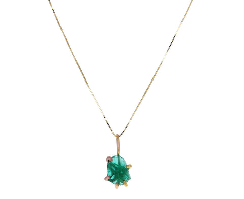 Zambian Emerald Necklace