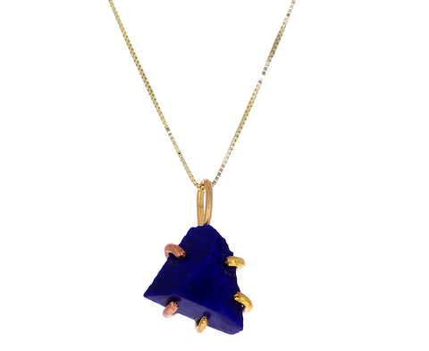 Small Lapis Pendant Necklace