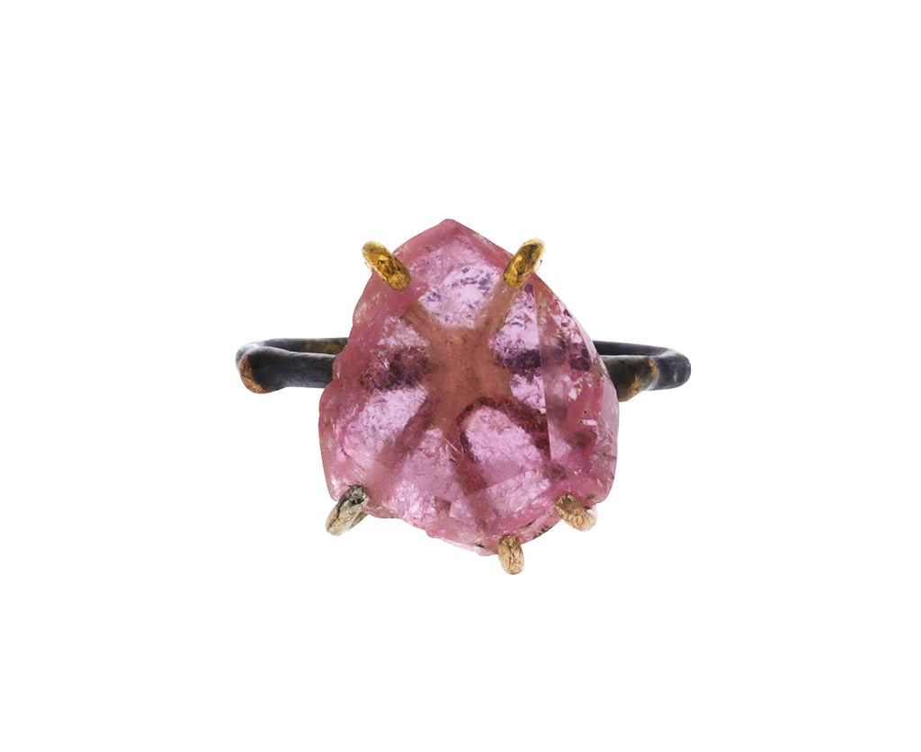 Medium Pink California Tourmaline Ring