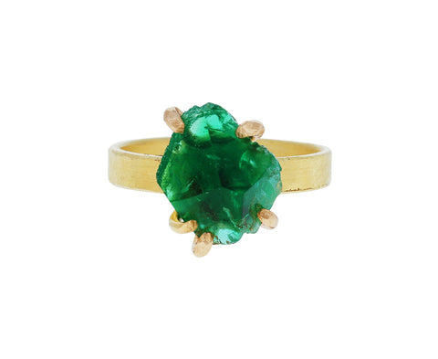 Large Emerald Ring - TWISTonline