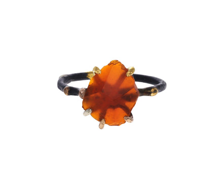 Medium Mexican Fire Opal Ring