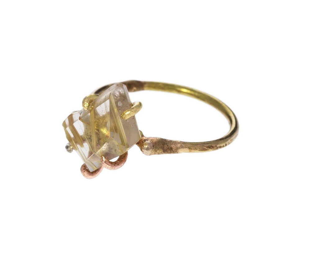 Rutilated Quartz Ring - TWISTonline