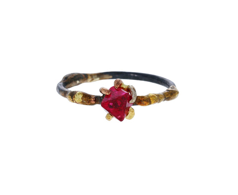 Red Spinel Ring - TWISTonline